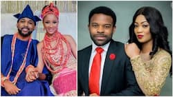 Nigerians react to rumour of Banky W cheating with Gabriel Afolayan's wife