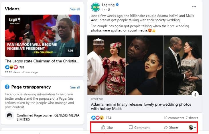 New Facebook algorithm: How to see Legit.ng's posts on your timeline now