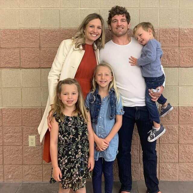 Ben Askren's family