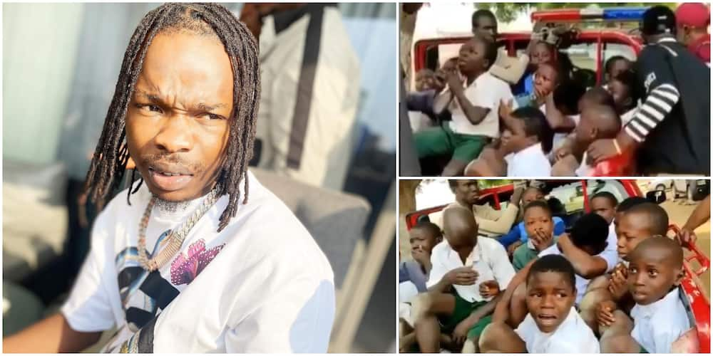 Naira Marley reacts as Amotekun nabs school students modelling themselves after him