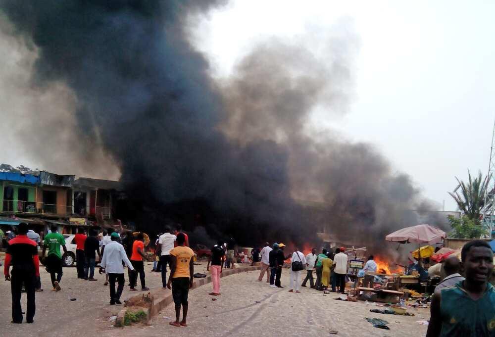 Fashewar Bam ya kashe yara shida a Burkina Faso