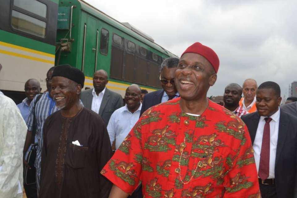 FG working on coastal rail line to link Lagos, Ogun, Benin and Rivers - Amaechi
