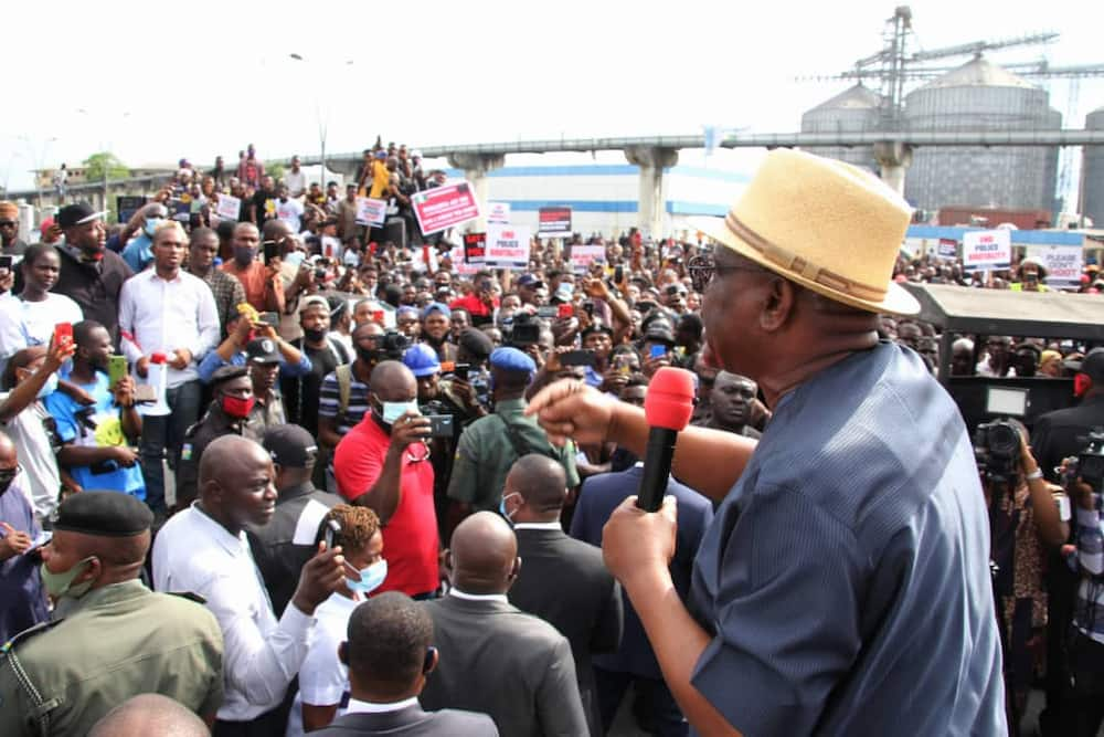 EndSARS: Governor Wike says no state has suffered in the hands of police like Rivers