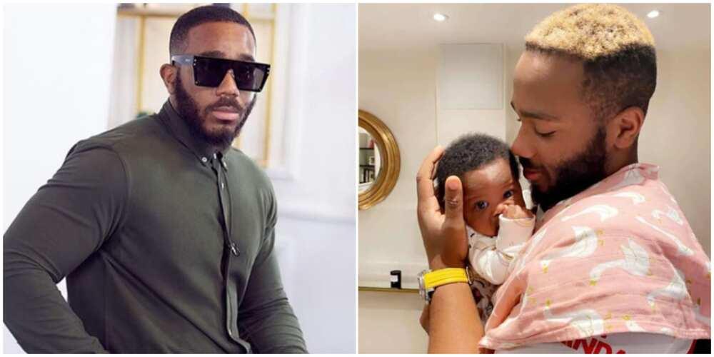 BBNaija ex-housemate Kiddwaya shares cute photo with his niece