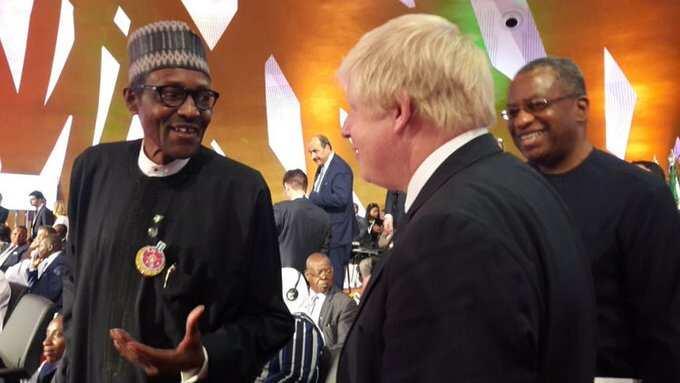 Buhari a Landan: Burtaniya ta shirya taimakawa Najeriya a yaki da matsalar rashin tsaro