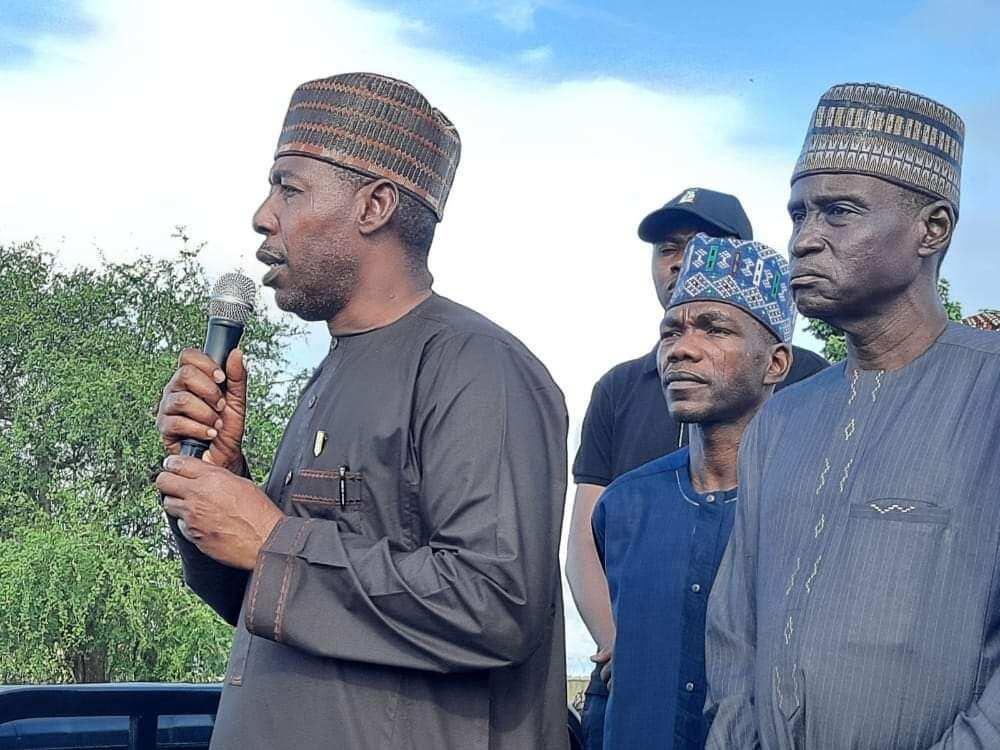 Gwamnan Borno, Farfesa Babagana Umaru Zulum