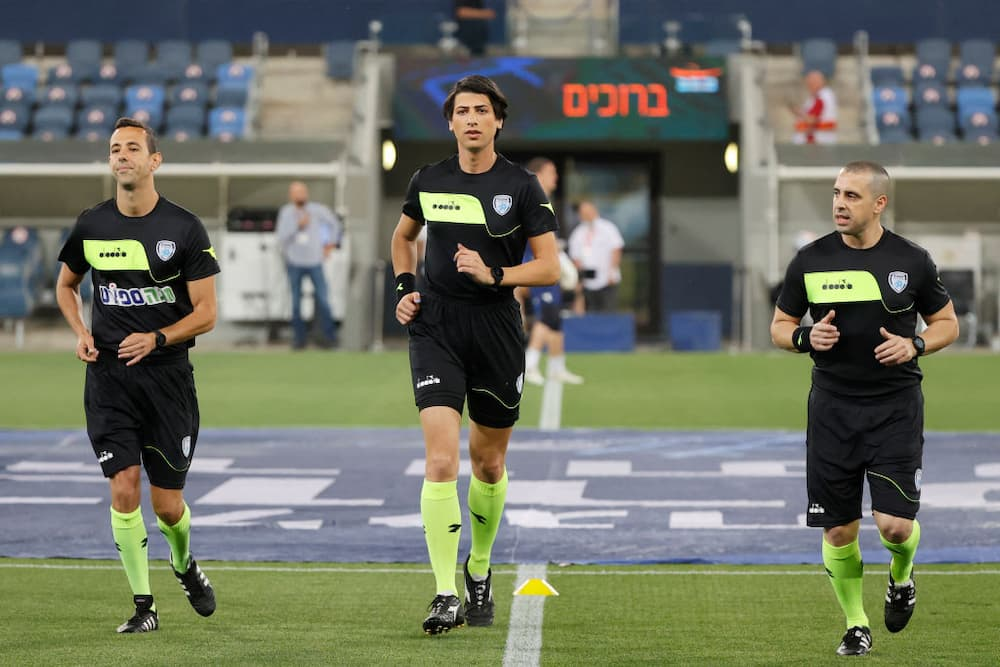 Sapir Berman made history by becoming the first transgender woman to referee a match in Israel