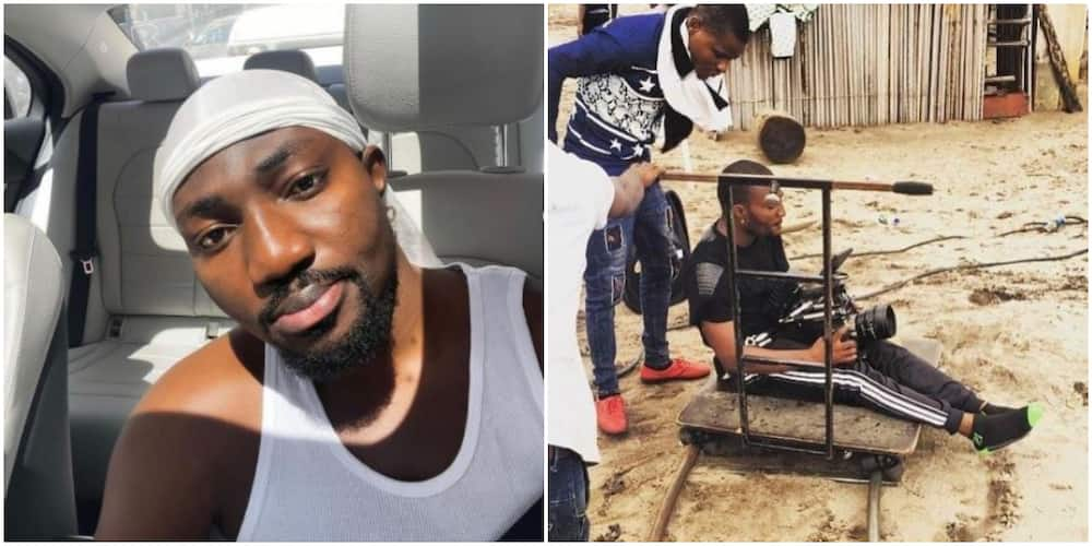 Filmmaker HG2 gifts fan N50,000 for drawing inspiration from his throwback photos