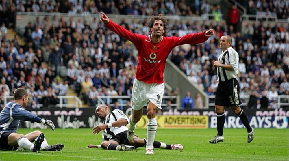 Cristiano Ronaldo Missing, Van Persie Named in Man United Top 5 Strikers of Premier League Era