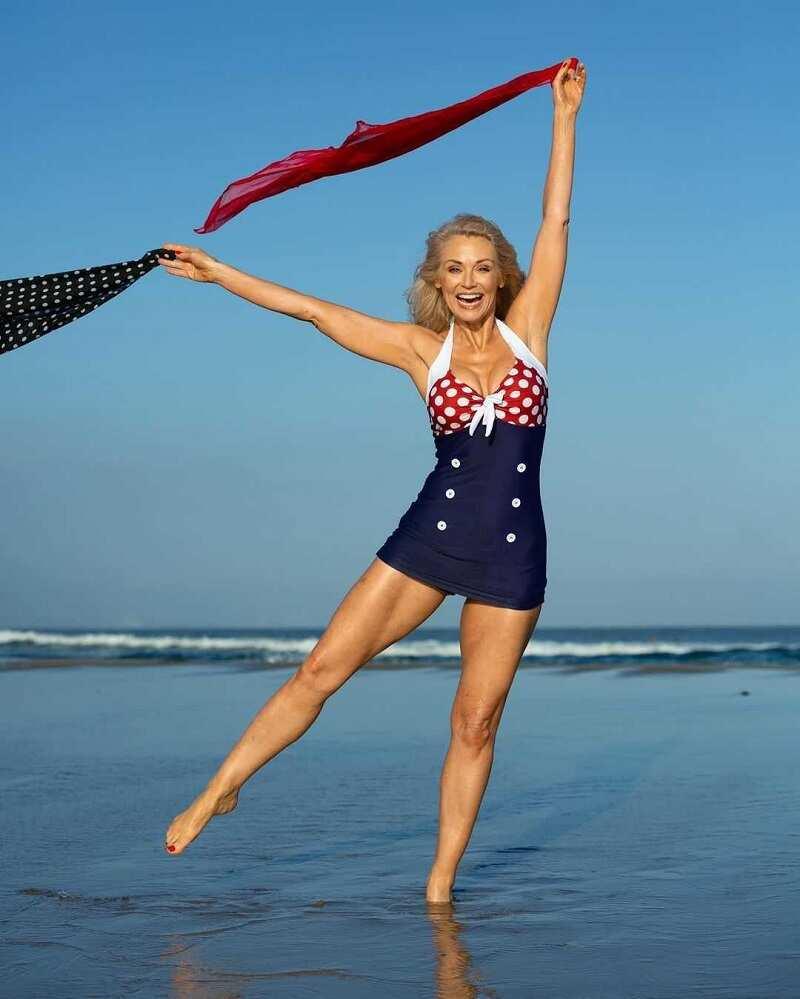Model Kathy Jacobs