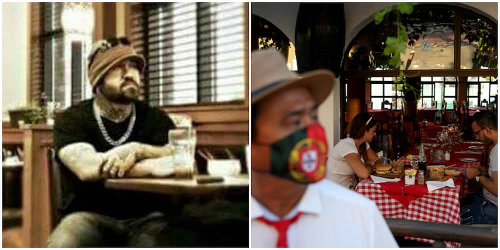 Man shows up at restaurant, sits alone for 2 hours, pays N246k for the meals of everyone that day and left