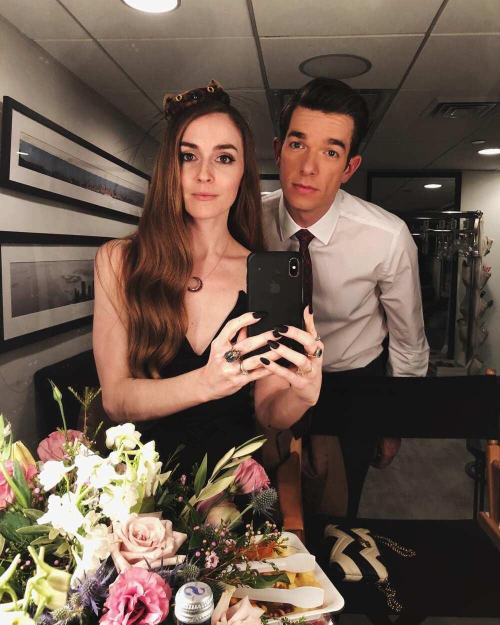 john mulaney and wife