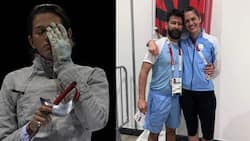 Jubilation as coach proposes to his Argentine athlete in Tokyo 2020 Olympics