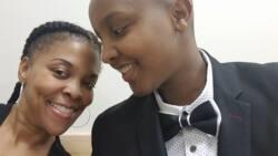 Kenyan lady gets married to American woman in simple wedding