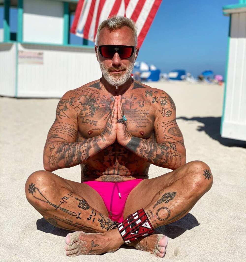 Gianluca Vacchi tattoos