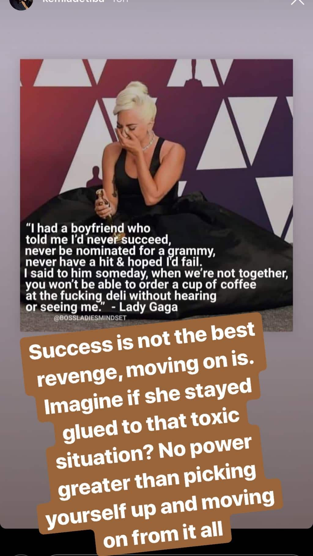 Toke Makinwa reveals the best revenge to give an ex after a broken relationship,says it is not success