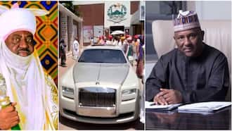 Billionaire reportedly gifts Emir of Kano Rolls Royce, many react as man claims it's 2021 model worth N200m