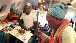 Odion Ighalo posts adorable video of himself and mother as they travel for special vacation