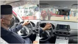 Video shows VP Yemi Osinbajo driving electric car in Abuja, Nigerians react