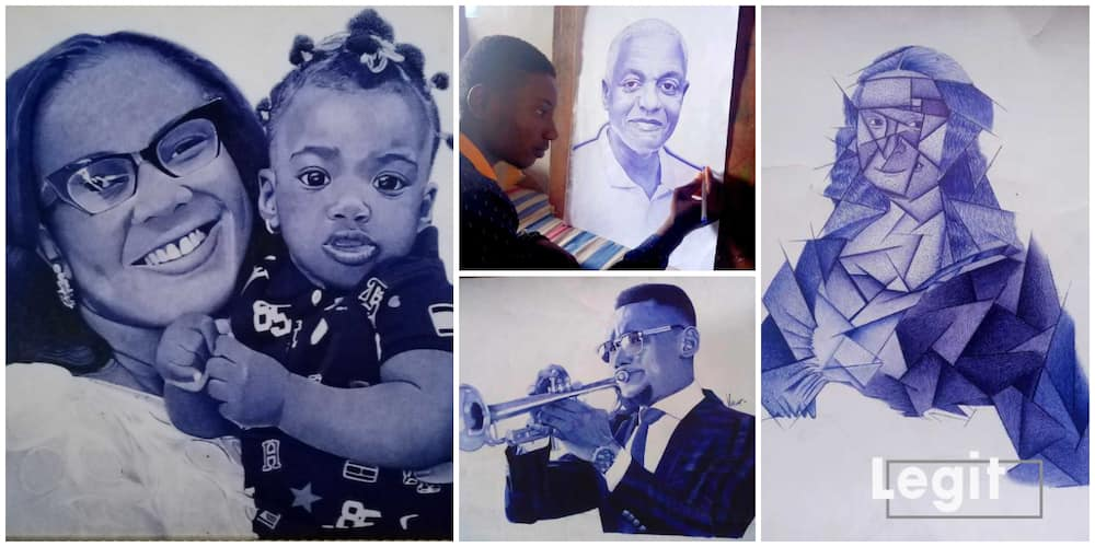 Victor Obot: Young Nigerian Man who Captures  Beautiful Lasting Moments and Memories with Just His Biro