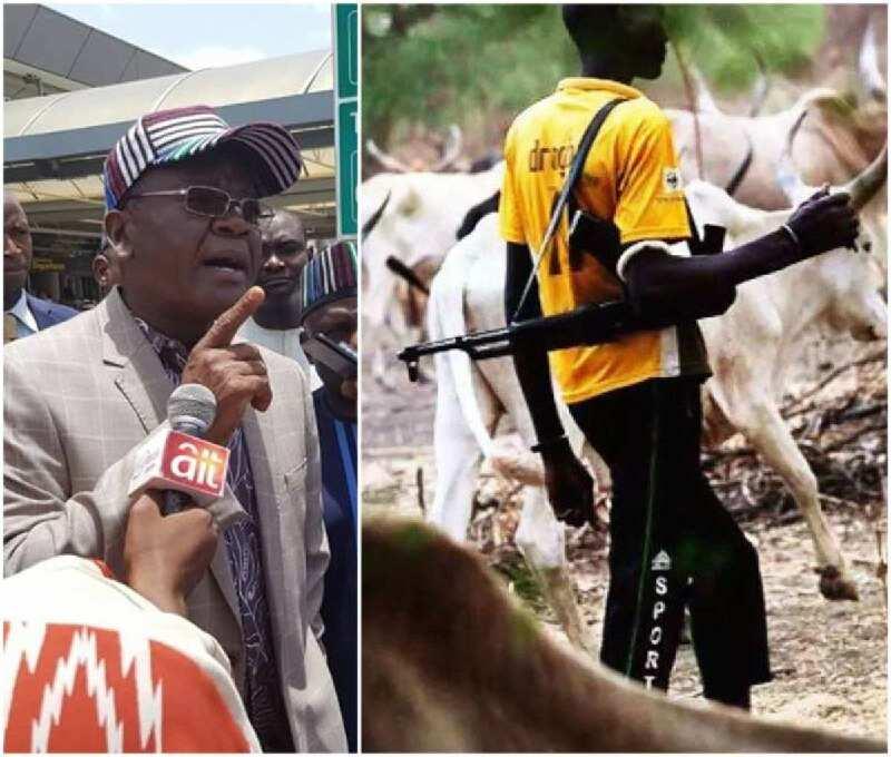 Wata kungiyar Fulani: Mun so kashe Ortom, mu muka kai masa hari