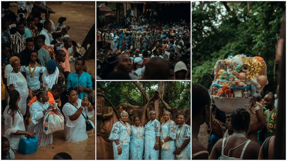 Osun Osogbo festival started a long time ago.