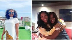Actress Ini Edo passionately sings, dances to Tiwa Savage's new song with Brandy in video