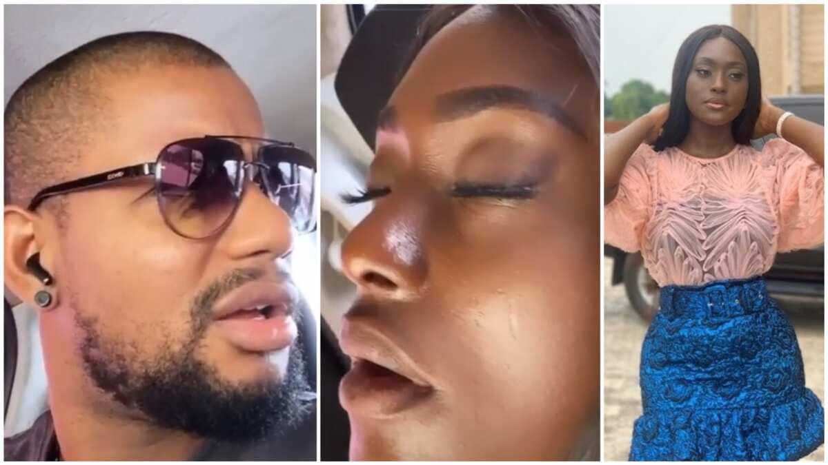 Alex Ekubo shares hilarious video of actress Linda Osifo sleeping