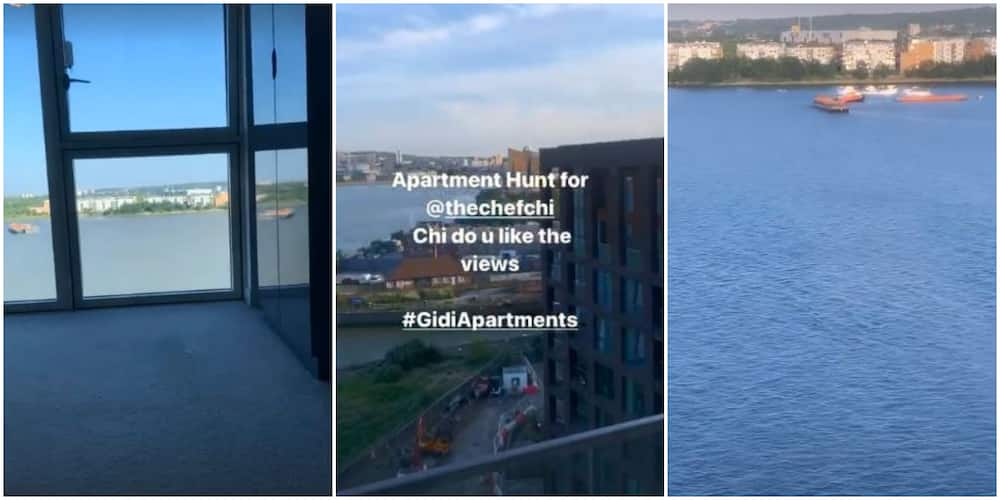 Moving On? Davido's Chioma Hunts for New Apartment With Breath-Taking Sea View