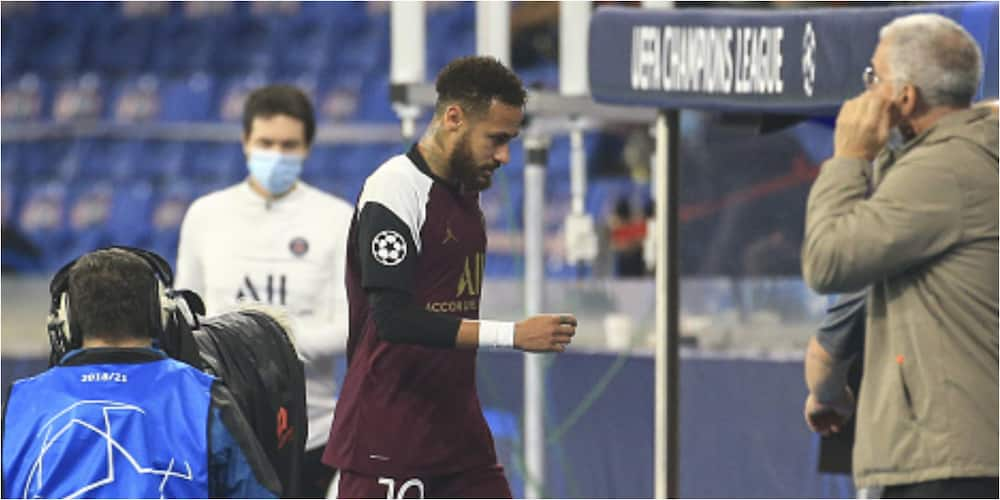 Neymar out for 3 weeks after groin injury in midweek Champions League tie