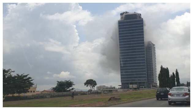 Fire destroys World Trade Centre in Abuja