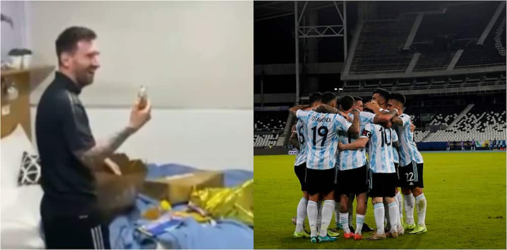 Argentine Players Give Messi Birthday Surprise In Hotel Room As He Clocks 34