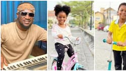 Paul Psquare celebrates his adorable twins on their 4th birthday