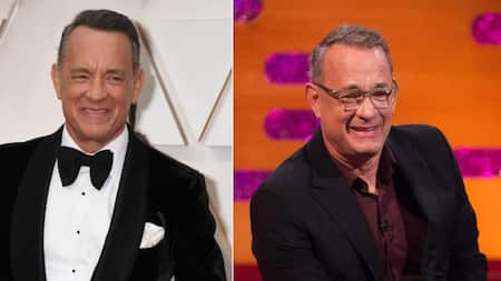 It was the cherry on top of our big day: Tom Hanks crashes beach wedding, poses for photos