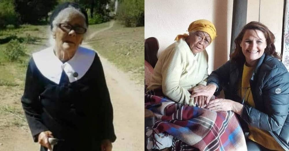 Woman pays tribute to 105-year-old grandma that doesn't look her age