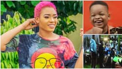 BBNaija Housemates sing and dance as they celebrate Beatrice's son who turned new age