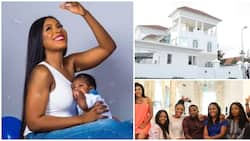 Linda Ikeji thanks haters as she lists 10 things she is most grateful for in 2018, shares family photos