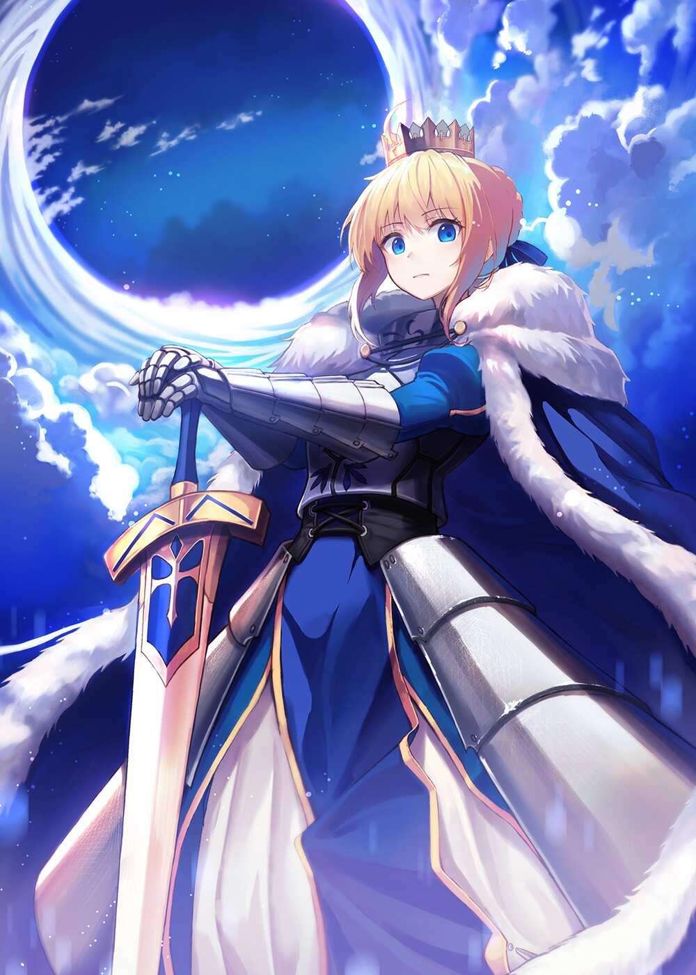 Anime female characters