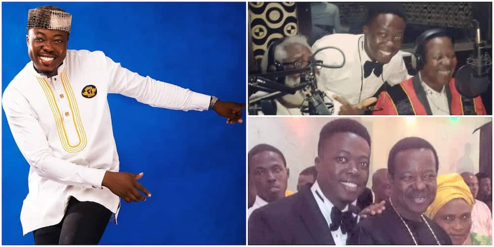 Legend in the Making: Meet King Sunny Ade's Son Ademola Who Sings and Dances Just Like Him