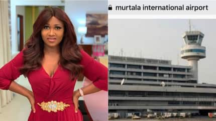 Actress Remmy Njoku cries out over deplorable state of Lagos international airport toilet