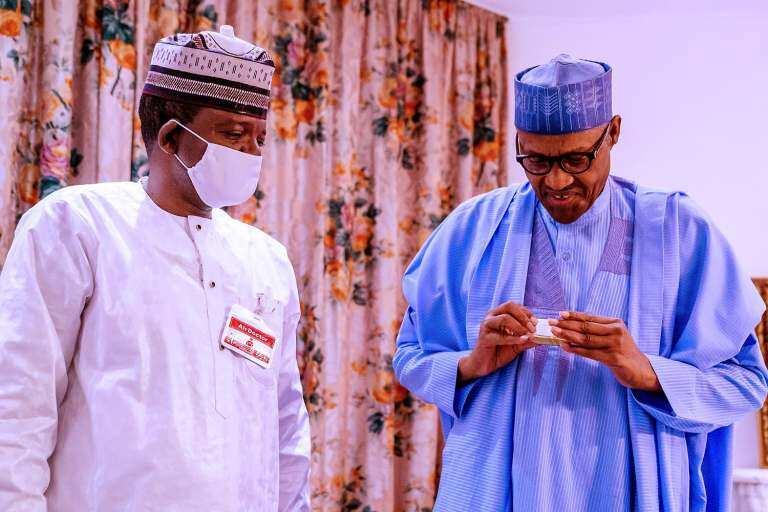 Matawallae ya gana da Buhari, ya fadi yadda arewa ke farfadowa daga rashin tsaro