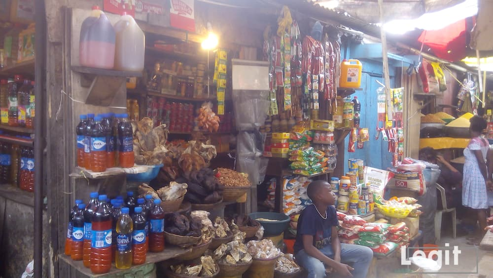 Despite the drop in the cost price of egusi and ogbono in the market now, the demand for the items drop further, traders disclosed. Photo credit: Esther Odili