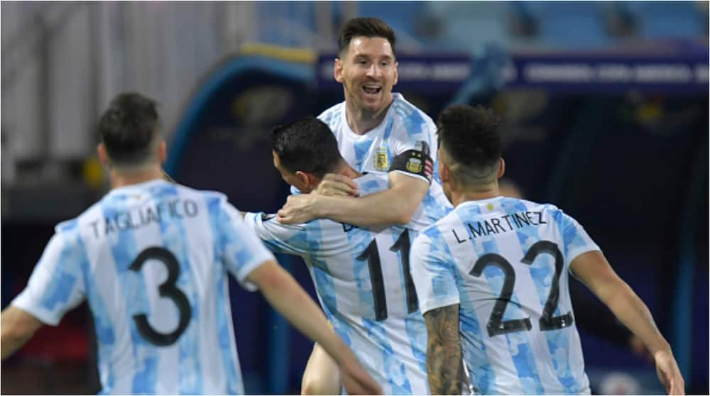 Messi Scores ridiculous Free Kick, Grabs Two Assists Against Ecuador As Argentina Cruise to Copa America Semis