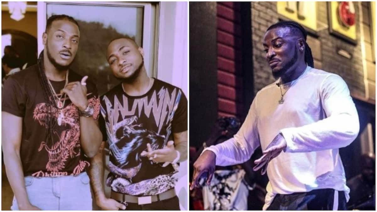 Singer Peruzzi speaks on his relationship with Davido and