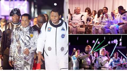 Photos from Pastor Chris Oyakhilome's 55th astronaut themed birthday party