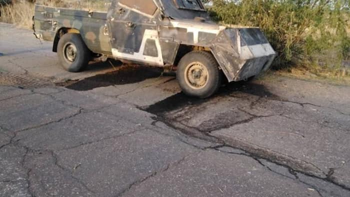 Troops destroy gun truck, IED laden vehicles in Baga (photos)