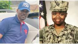 Fuji musician Pasuma congratulates daughter Opeyemi as she joins US Navy (photo)