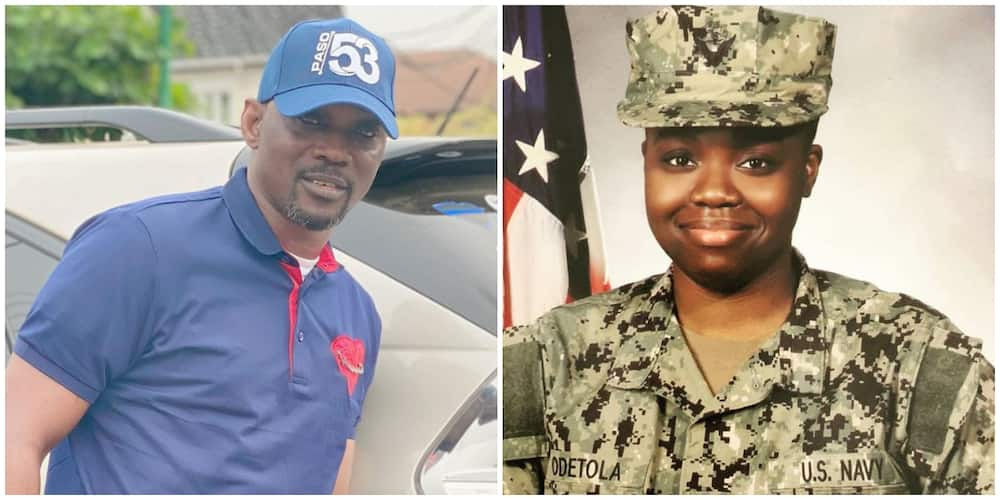 Singer Pasuma excited as daughter Opeyemi joins US Navy