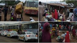 Photos show emotional moment beggars are being evacuated from the streets to resettlement centre in Oyo