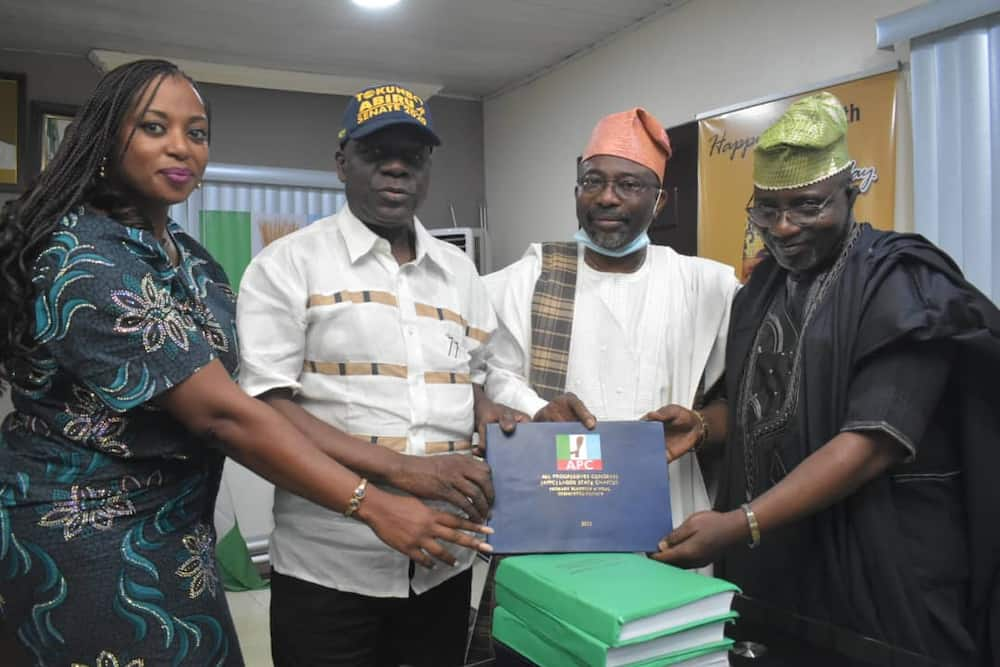 Lagos APC electoral appeal committee has submitted its reports.